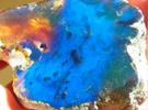 ambre bleu